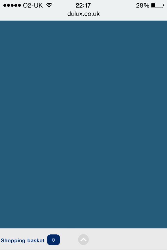 Hallway Colour Dulux Venetian Blue Kitchen Colour