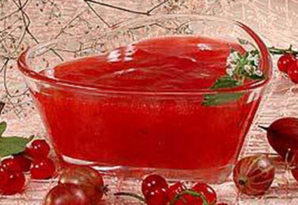 Желе из красной смородины рецепты на зиму с желатином