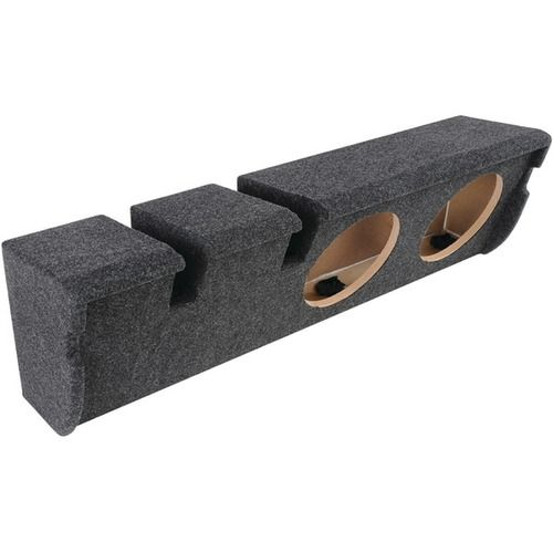 "ATREND A352-10CP BBox Series 10"""" Subwoofer Box for Ford(R) Vehicles (Dual Downfire)"