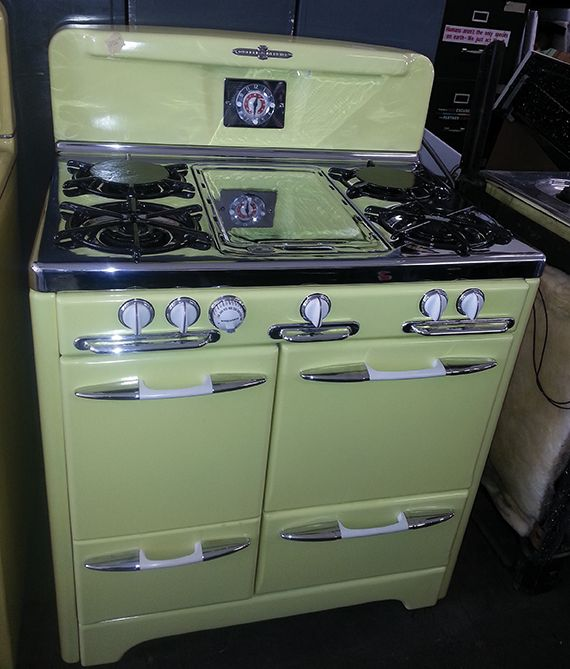Restored Vintage Electric Stoves ~ Best gas stove ideas on pinterest traditional
