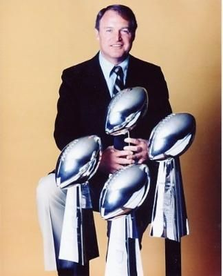 Chuck Noll, Former Head Coach of the Pittsburgh Steelers. Class of 1993.