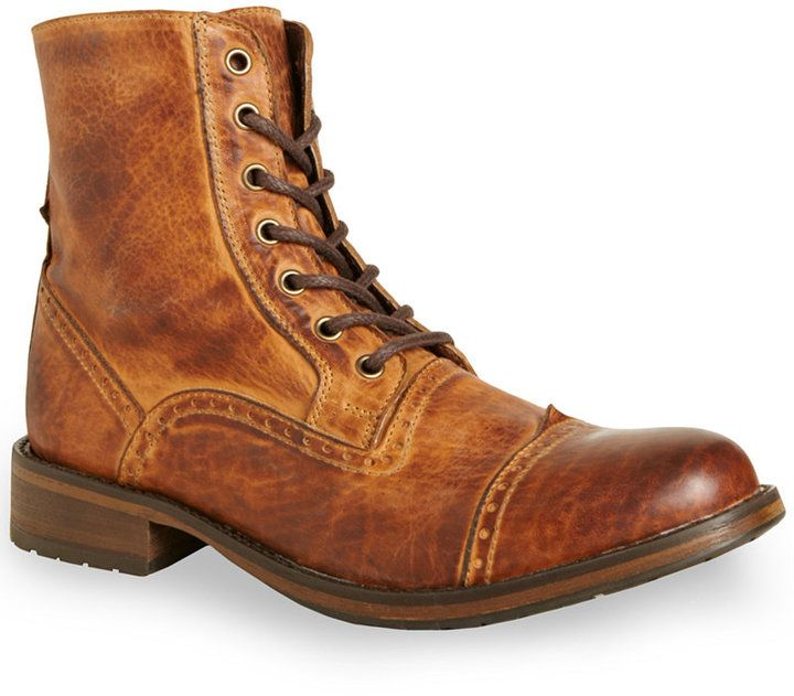 $77, Nathen Boots by Steve Madden. Sold by Macy's. Click for more info: http://lookastic.com/men/shop_items/151036/redirect
