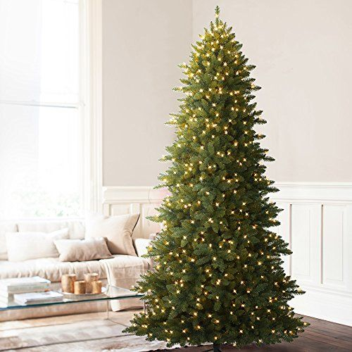Balsam Hill Berkshire Mountain Fir Prelit Artificial Christmas Tree 9 Feet Clear Lights *** Click image for more details.