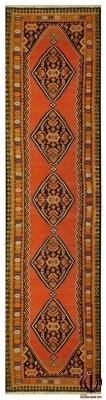 480x120 cm tappeto kilim persiano | Tappeti bianchi ocra | Tutti Tappeti Scontati, Occasionali con prezzi d'ingrosso | Tappeti per bambini Walt disney | Farah 1970