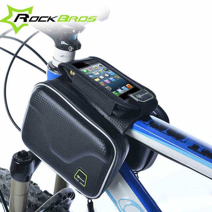 Купить товарRockbros велоспорт велосипед мешок чехол рамка передней трубы 4.0   5.0 дюймов сумка для Iphone Sumsing телефонов сенсорном экране в категории Велосипедные корзинына AliExpress.    Начать                         RockBros алюминиевого сплава MTB велосипед велоспорт...             Цена:    $13.13