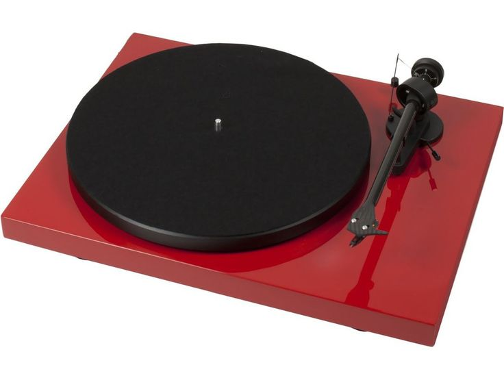 Platine vinyle Project Debut Carbon Rouge - cobra.fr