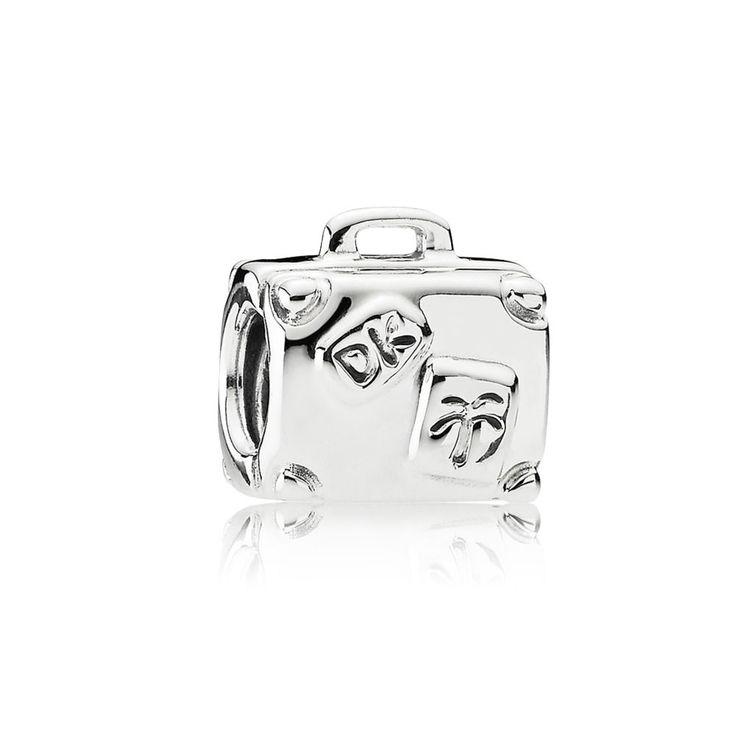 Suitcase Charm - Pandora UK | PANDORA eSTORE