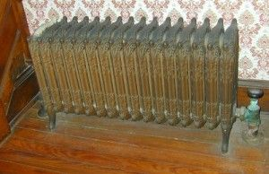 Antique Home Radiators for Sale | ... the Vance Mile's House - Historic House for Sale on the Eastern Shore