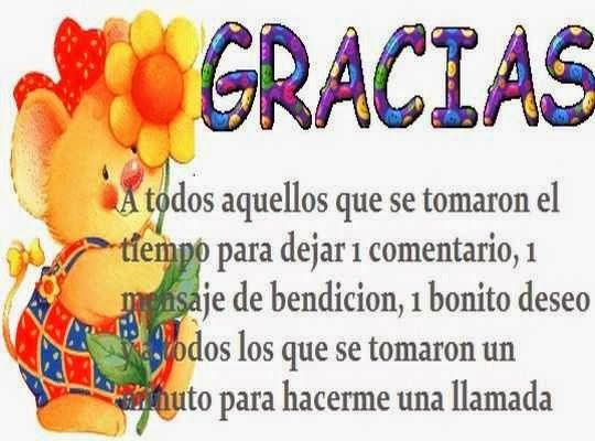 Palabras para agradecer felicitaciones de cumpleaños