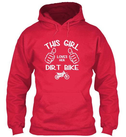THIS GIRL LOVES HER DIRT BIKE - LIMITED! | Teespring