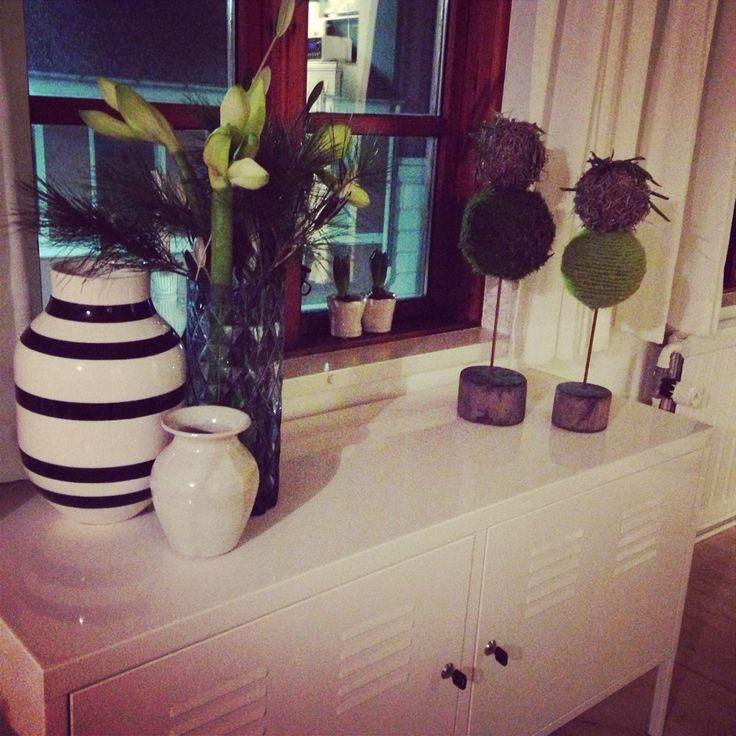 December hygge i lejligheden med amaryllis