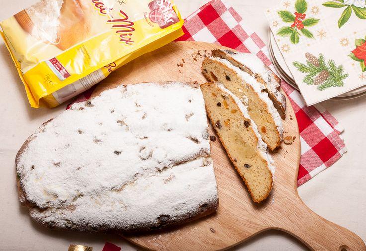 Ontbijt=Glutenvrije kerststol