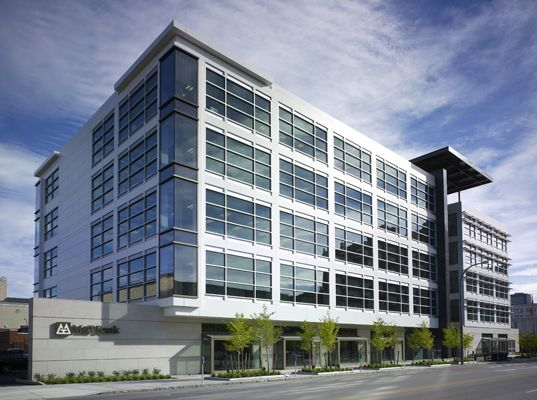 urban archecture new 5 story building | ... community 285 delaware office building 285 delaware office building
