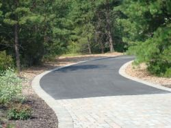 31 best driveway images on pinterest driveways blacktop driveway meandering driveway with ribbon edging solutioingenieria Image collections