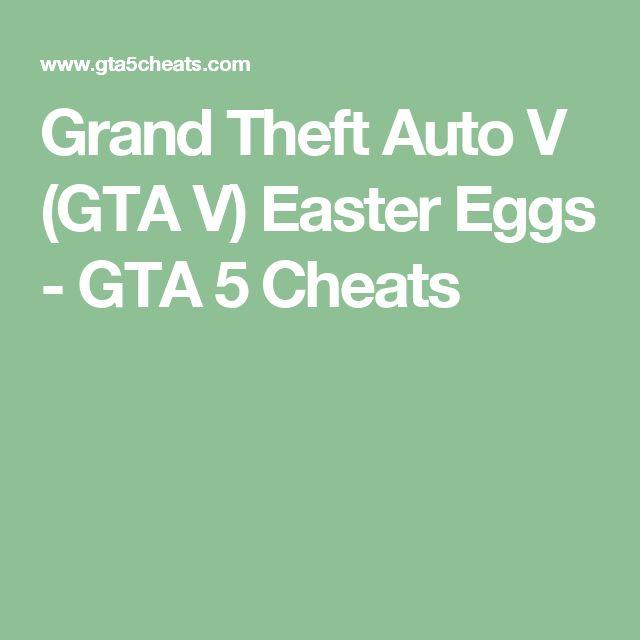 Grand Theft Auto V (GTA V) Easter Eggs - GTA 5 Cheats