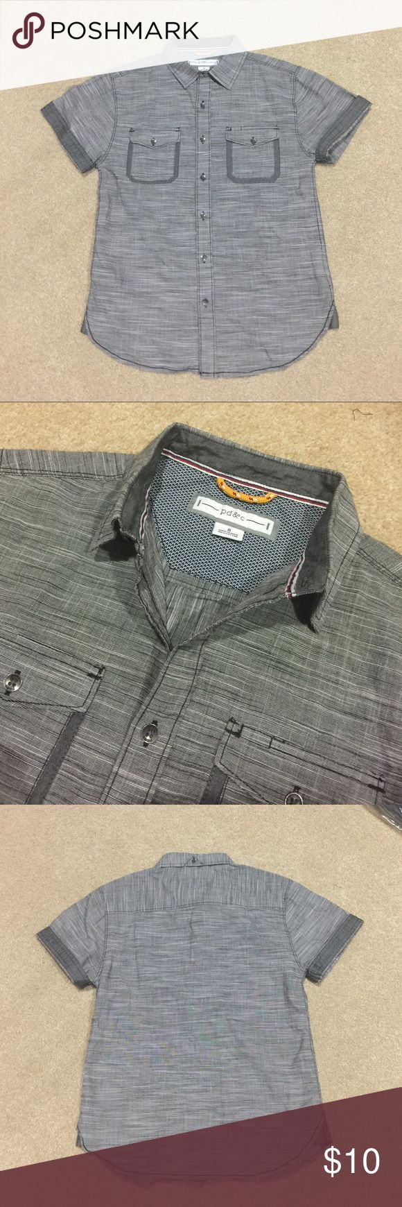 NWOT Boy's PD&C Shirt NWOT, Boy's PD&C Shirt, size 8, 100% Cotton. Brand new and never worn condition. No holes, rips, tears or stains. 20% off 3+ items in my closet. BUNDLE & SAVE! PD & C  Shirts & Tops Button Down Shirts