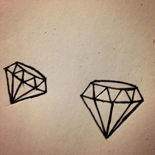 17 Best ideas about Diamond Drawing on Pinterest | Diamond ...