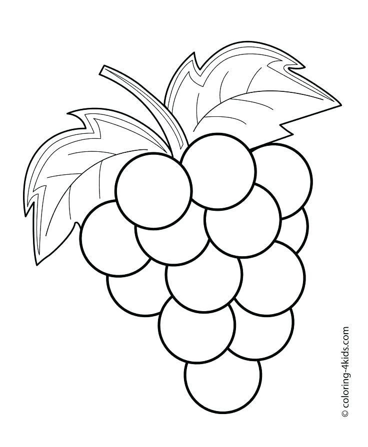 Vegetable Coloring Pages Fruit And Vegetable Colouring ...