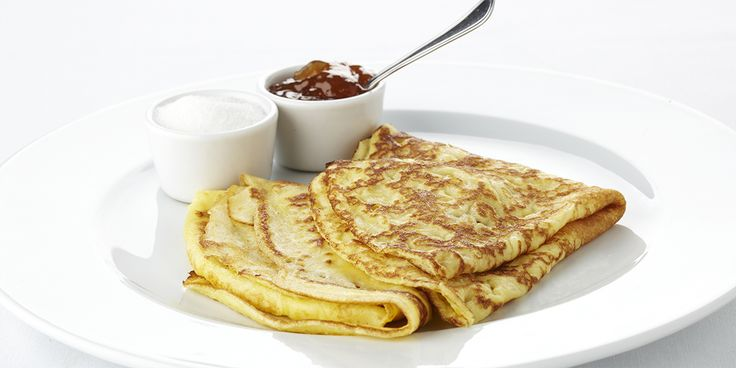 Een overheerlijke pannenkoeken, die maak je met dit recept. Smakelijk!