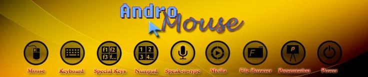 Android mouse (teclado y ratón inalámbrico para android)