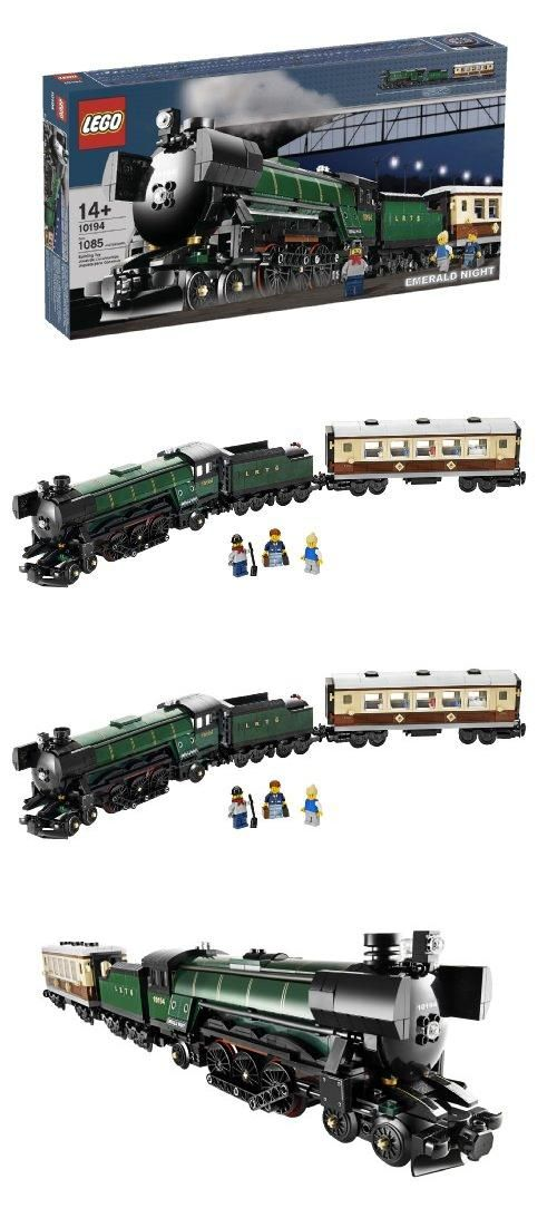 LEGO Creator Emerald Night Train (10194), LEGO Exclusif: Emerald Night Train Jeu De Construction 10194, #Toys, #Building Sets