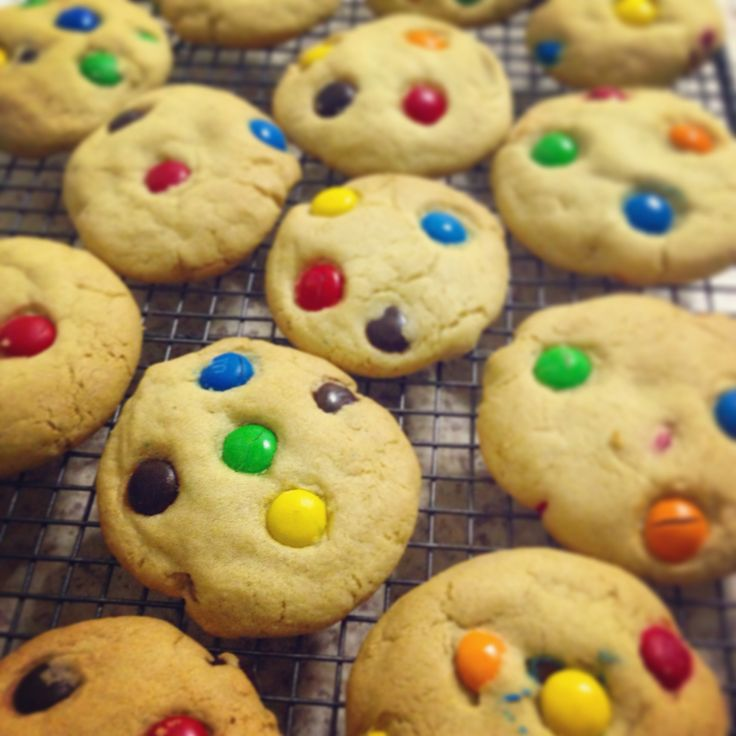 M&M cookies by @stephabubbles