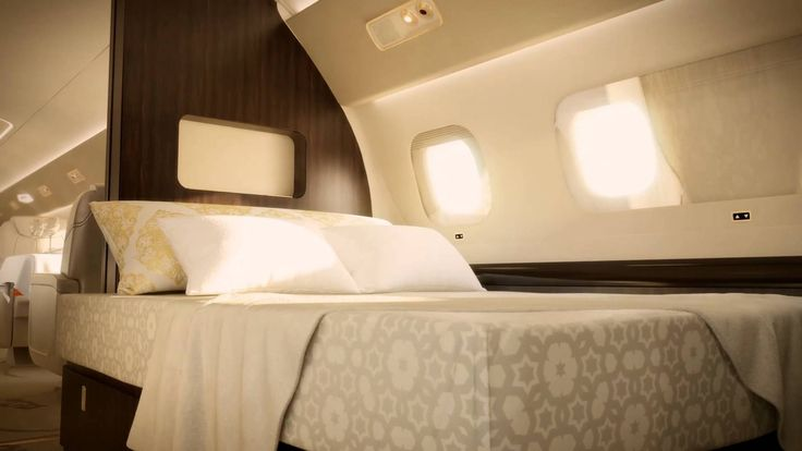 Embraer Lineage 1000 Interior Animation