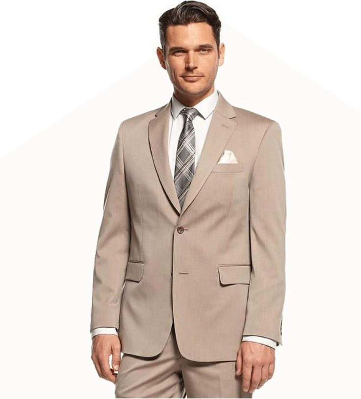You will become such a outstanding man with  High Quality Flat Collar Khaki Groom Tuxedo Man Wedding Suits 2015 Veins Custom Made Bridegroom/Boys Wedding Party Suits (Jacket+Pants+Tie) offered by welovelife. Besides, DHgate.com also provide dinner jacket styles purple tuxedos for prom and latest mens wear.