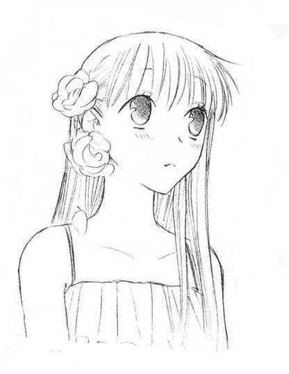 fruits basket yuki coloring pages - photo#36