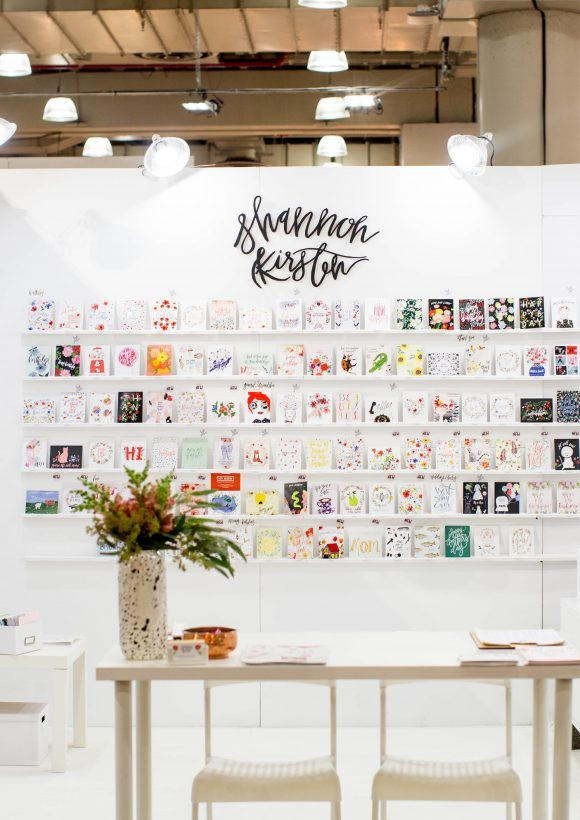 NY NOW trade show booth // Shannon Kirsten Illustration