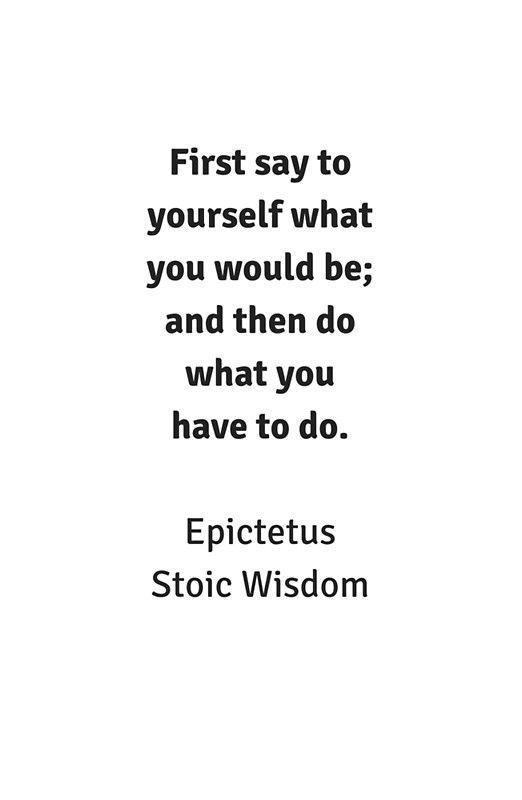 'Stoic Wisdom – Philosophy Quotes – Epictetus – …