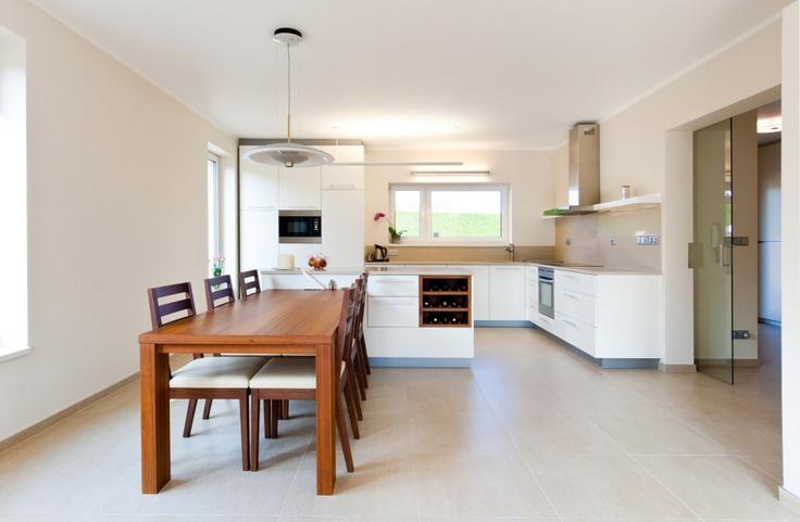 A kitchen just like you want it.  (architect: Ivan Zachar)