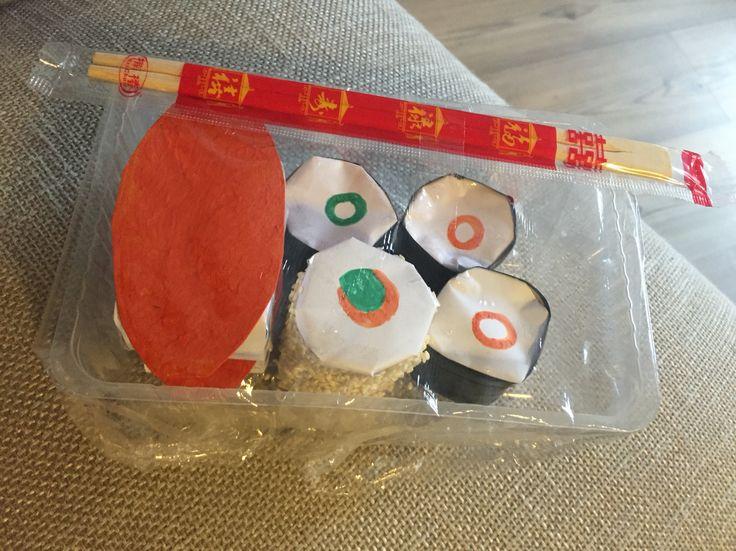 Voor de sushi liefhebber