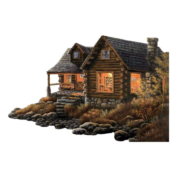 chateau ❤ liked on Polyvore featuring scenery, house, homes, landscape, tubes and filler