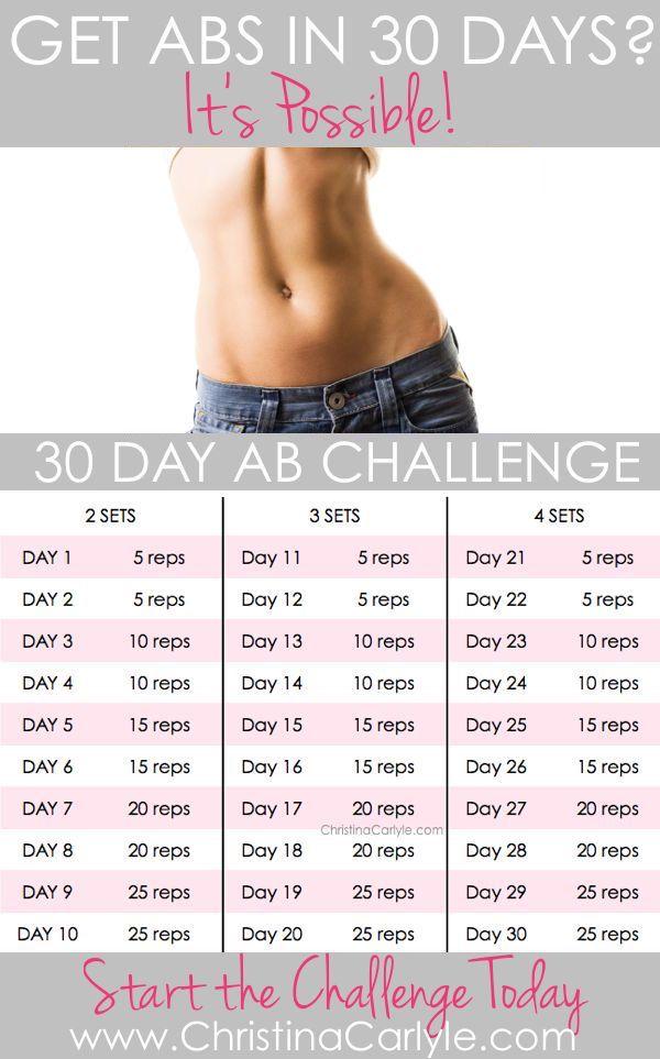 30 day ab challenge