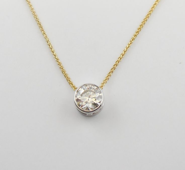 A #Diamond #Slider is a #classical everyday piece - perfect for a woman of any age!
