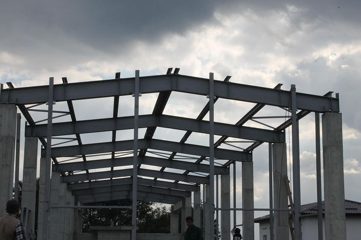 Decorom Ciacova Romania - Steel Structures Buildings - Duna-steel.ro