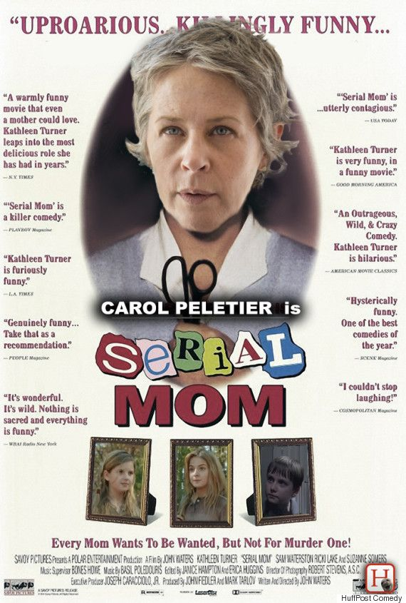 We Went Ahead And Gave Carol From 'The Walking Dead' The Movie Poster She Deserves