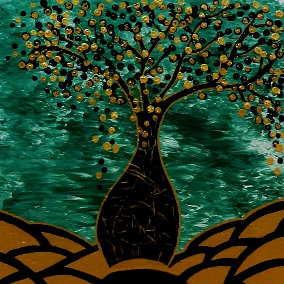 Abstract Boab Tree by TopazeDesigns on Etsy, $350.00