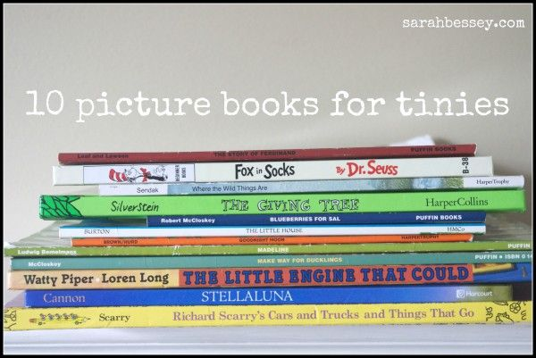 10 Books for Tinies
