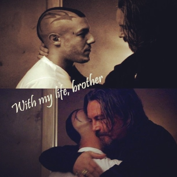 I miss the brother like relationship of Chibs and Juice