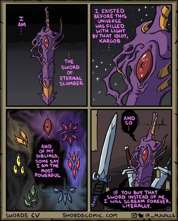 Magical Swords Comics   Amusing   Dnd funny, Comics, Dnd stories
