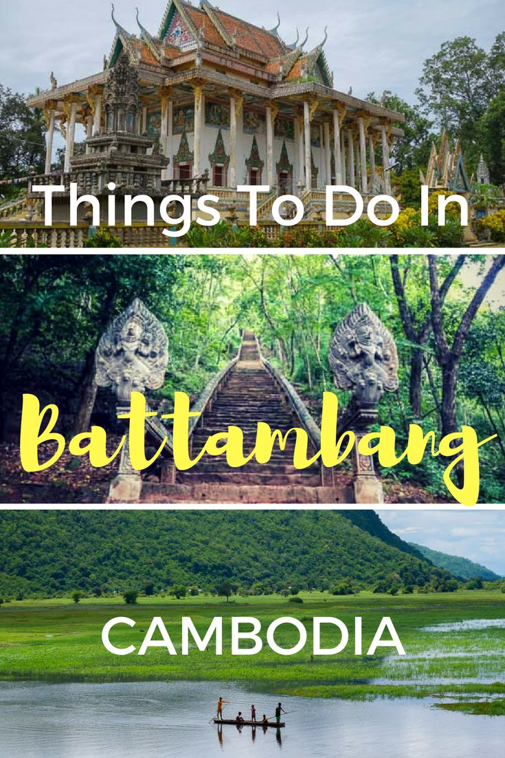 There is so many things to do in Battambang. Put Battambang on your list of places to visit in Cambodia. Here is the best things to do in Battambang. #cambodia #battambang #bambootrain #angkorwat