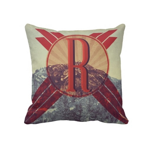 Retro Sign Pillow