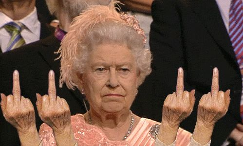 The queen doesn't like Mondays