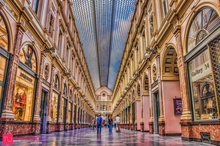 10 Things to do in Brussels, Belgium - Shop in the Galeries Royales Saint Hubert © Travelers Universe