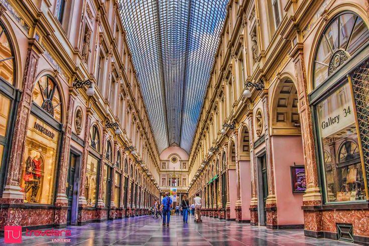 10 Things to do in Brussels, Belgium - Shop in the Galeries Royales Saint Hubert © Travelers Universe