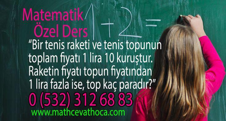 Matematik Geometri derslerinde başarılı olmanın en önemli etkenlerinden birinin kendinize güven olduğunu bilin. Çünkü Matematik öğrenmek kafada başlıyor…