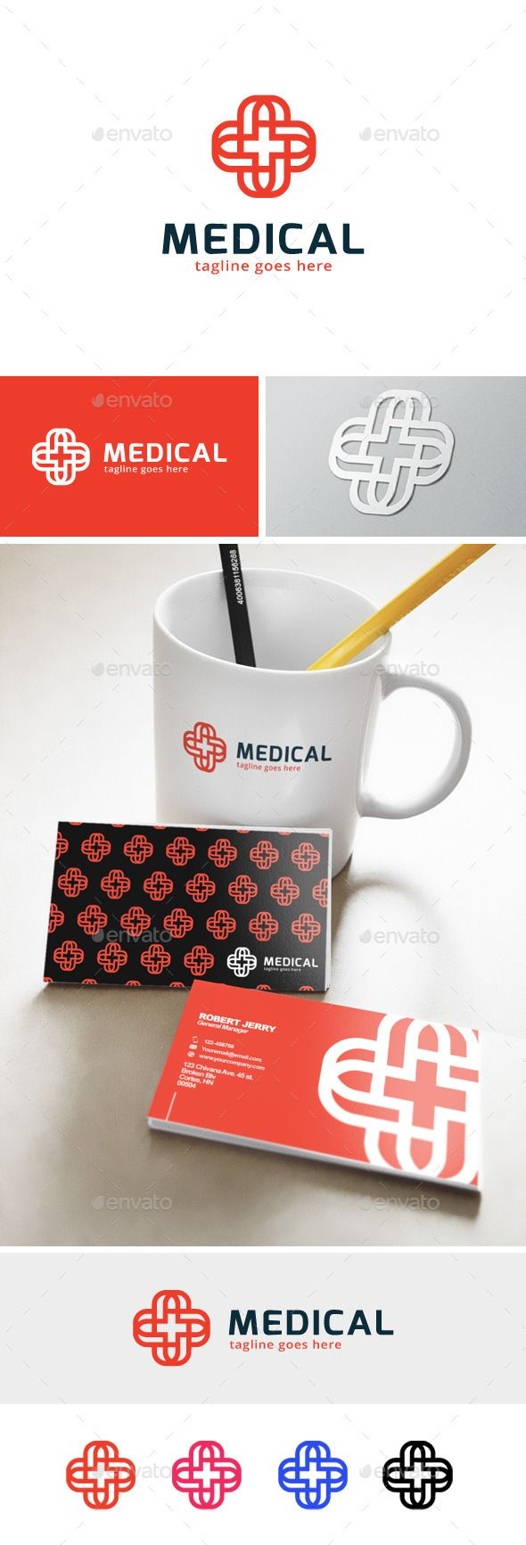 Medical Plus  Logo Design Template Vector #logotype Download it here: http://graphicriver.net/item/medical-plus-logo/12043162?s_rank=636?ref=nexion