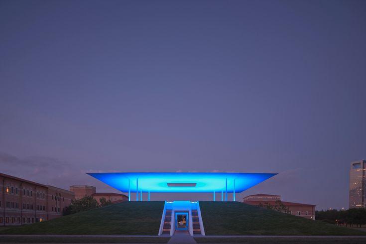 Twilight Epiphany  Rice University  Designed by James Turrell